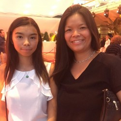 china night monaco 2017 chloe cornu wong and mum 1