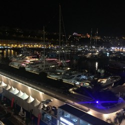 china night monaco 2017 chloe cornu wong harbour scenery 2