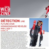 Traces Magazine (#115) - Une future star hongkongaise révélée par l'ESF ?